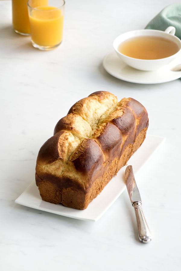 La recette de la vraie brioche de boulanger