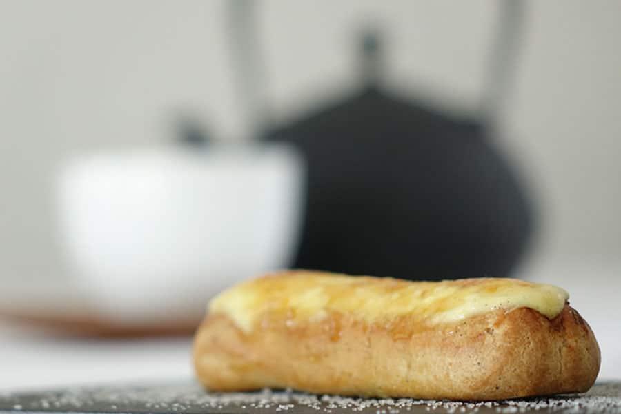 Recette des éclairs pomme/crème brulée