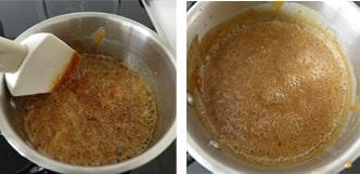 Pas à pas de la pâte à tartiner caramel au beurre salé