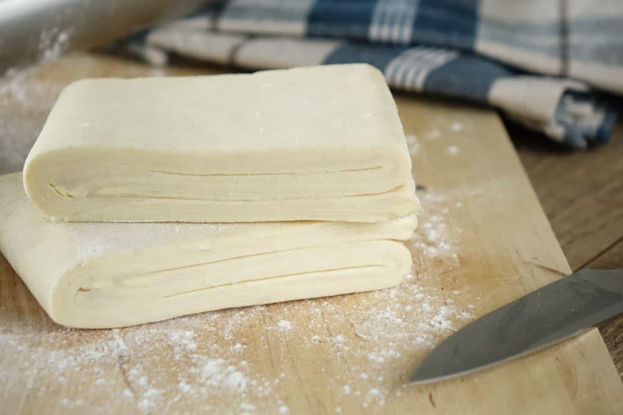 Recette de la pâte feuilletée