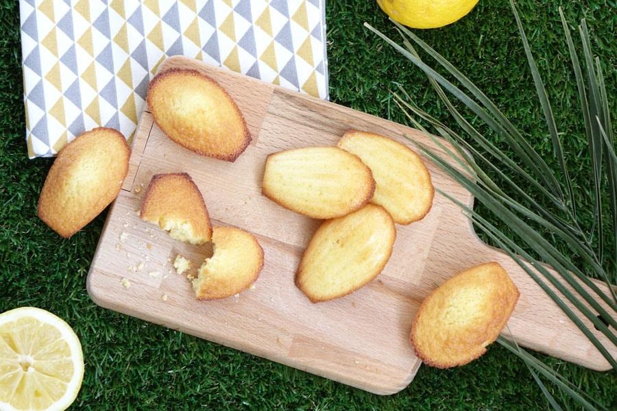 Recette des madeleines au citron