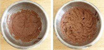 Pas à pas de la tarte poire chocolat