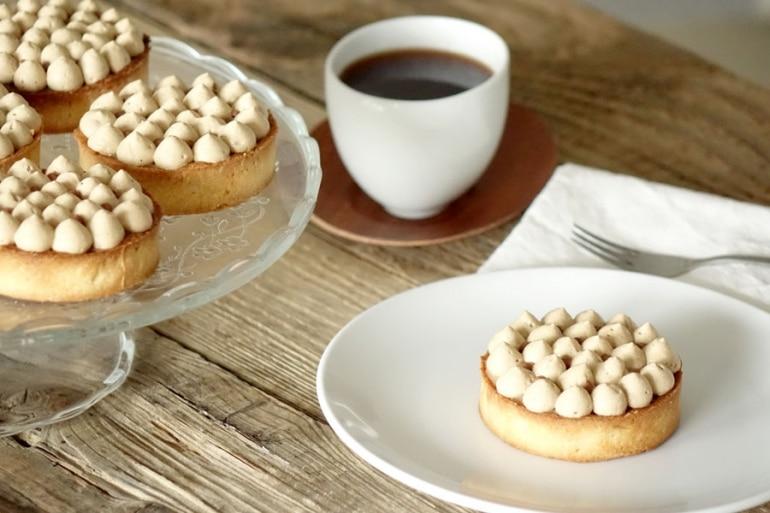 Recettes des tartelettes infiniment café