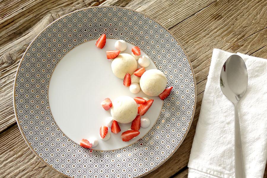 Recette des fraises melba