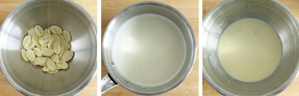 Pas à pas de la recette du fromage en trompe l'œil !