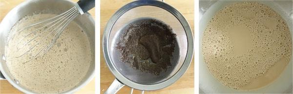Pas à pas de la recettes des tartelettes infiniment café