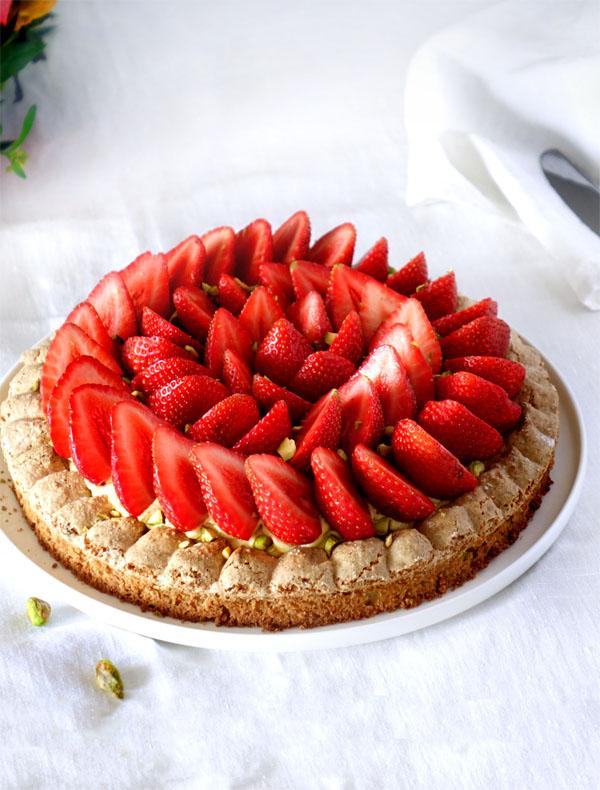 La recette du Montebello fraises et pistache