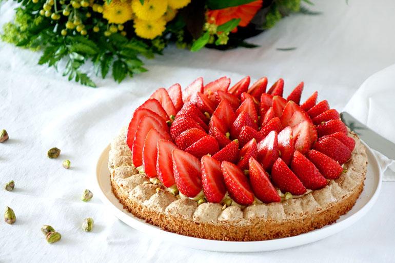 Recette du Montebello fraises et pistaches
