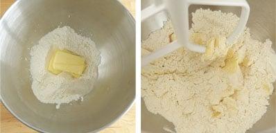 Pas à pas de la recette de pâte brisée