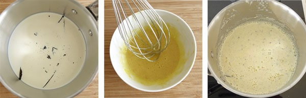 Pas à pas de la recette du mille-feuille vanille et mascarpone