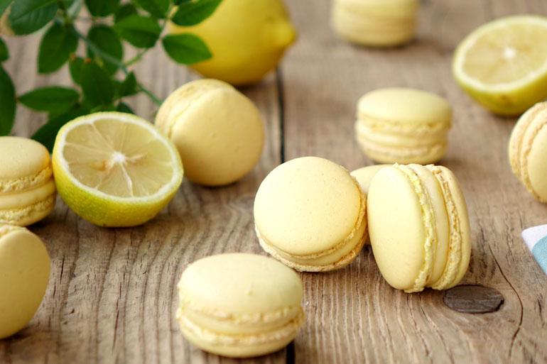 Recette des macarons au citron