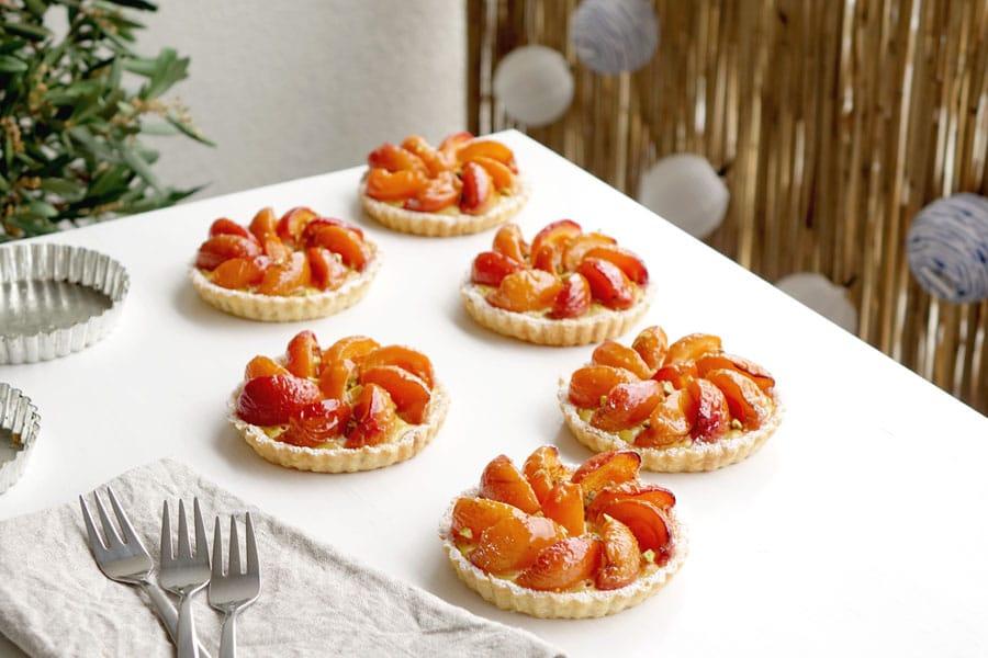 La recette des tartelettes aux abricots
