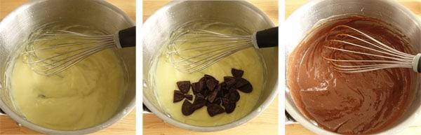 Pas à pas de la brioche tressée au chocolat