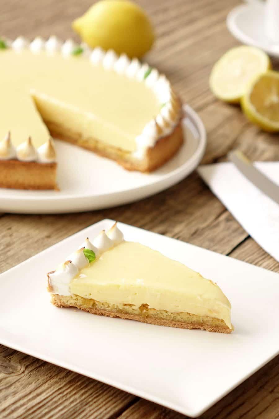 Recette de la tarte au citron
