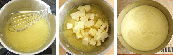 Pas à pas de la recette de tarte au citron