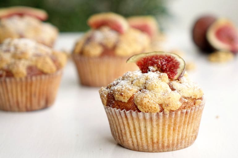 Recette des muffins figues et noix