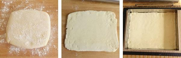 Pas à pas de la recette de tarte alsacienne aux quetsches