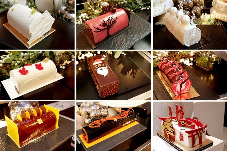 10 bûches de chefs pâtissiers pour Noël 2016
