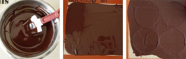 La recette des tartelettes chocolat et praliné croustillant