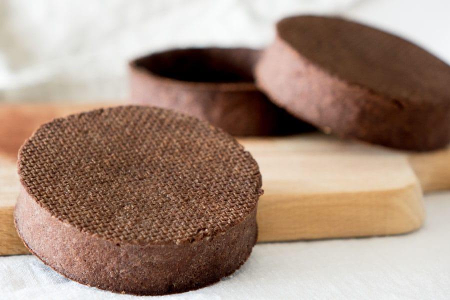 p te sucr e au chocolat empreinte sucr e. Black Bedroom Furniture Sets. Home Design Ideas