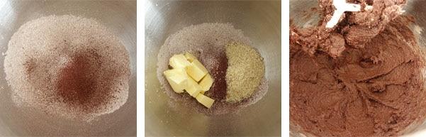 Recette de la pâte sucrée au chocolat