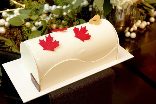 La bûche Canadienne de Pascal Lac
