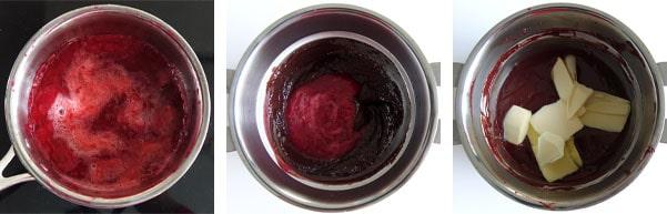 La recette de la bûche chocolat framboise