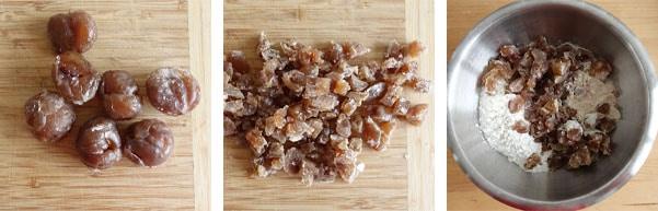 La recette du cake aux marrons glacés