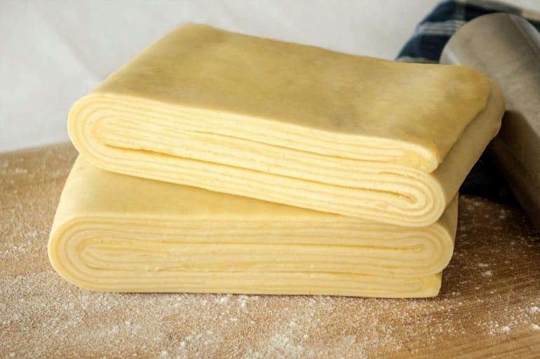 La recette de la pâte feuilletée inversée