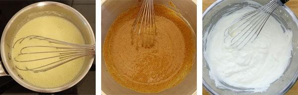 La recette de l'entremets noisettes et praliné
