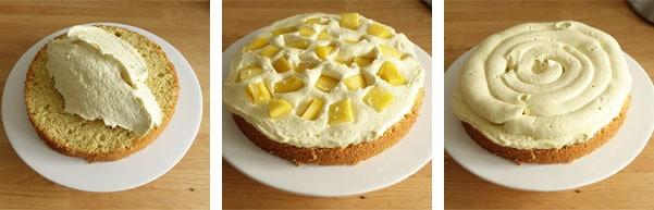 La recette du layer cake vanille et mangue