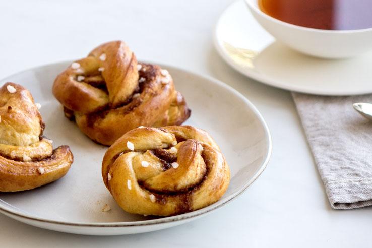 La recette des kanelbullar (brioche Suédoise à la cannelle ou cinnamon rolls)