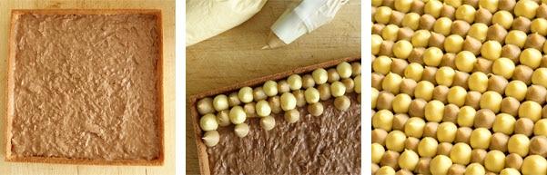Recette de la tarte passion dulcey