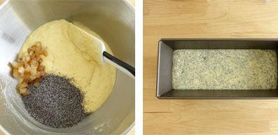 La recette du cake citron et pavot de Nicolas Bernardé