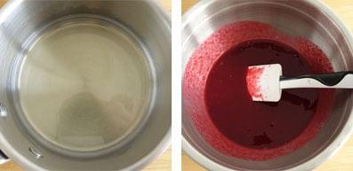 La recette de l'entremets framboise