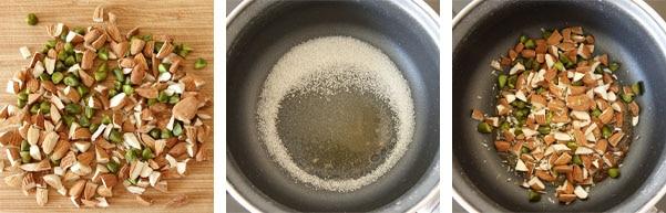 La recette du nougat glacé de Christophe Adam