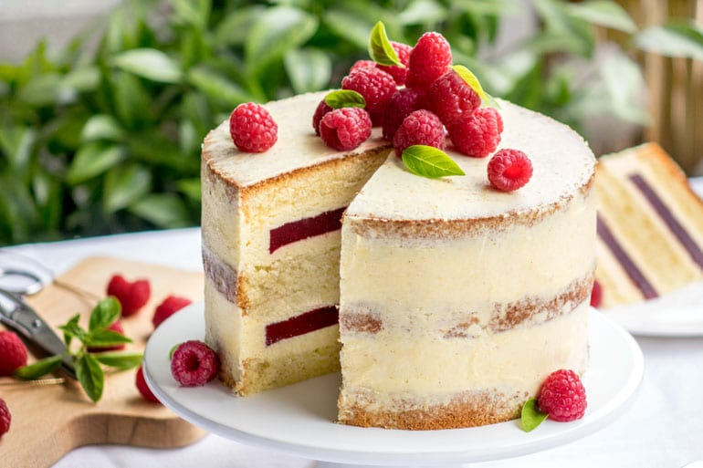 Recette Wedding Cake Fruit Rouge