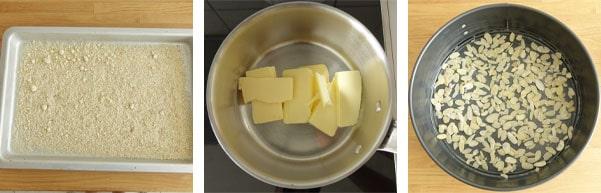 La recette du pain de Gênes aux amandes