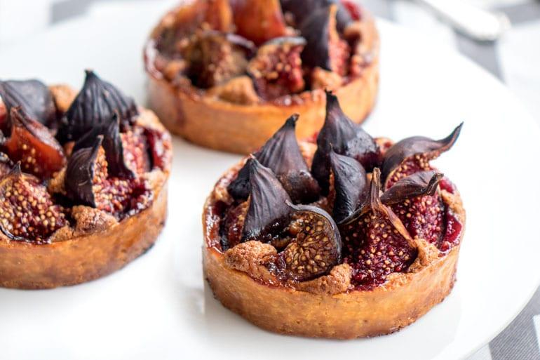 La recette des tartelettes figues et praliné de Thierry Mulhaupt