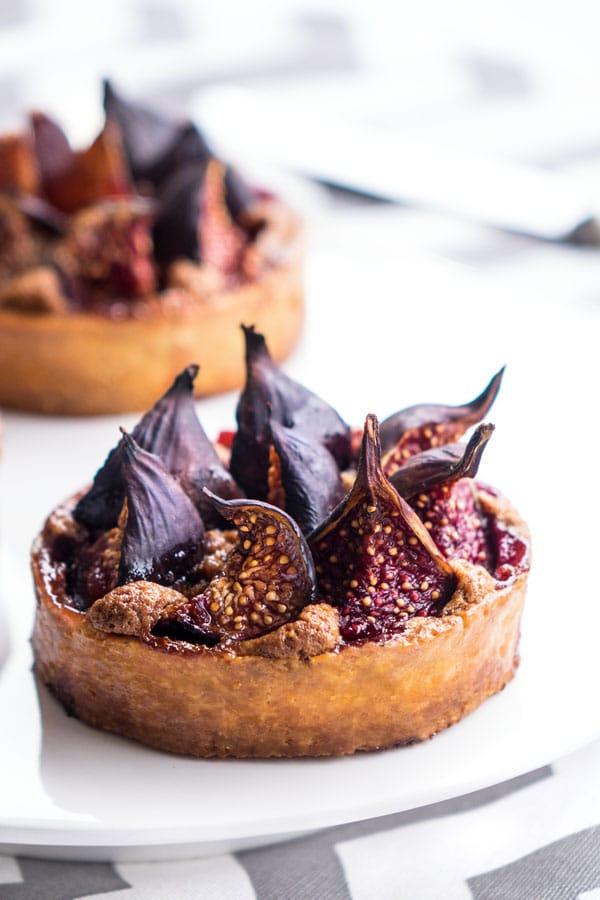 La recette des tartelettes folles figues et praliné de Thierry Mulhaupt
