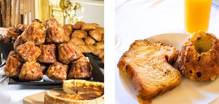 Le brunch du Meurice et son buffet de viennoiseries