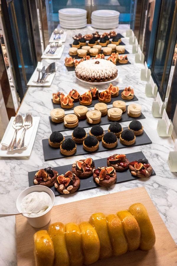 Le brunch du Meurice et les pâtisseries de Cédric Grolet
