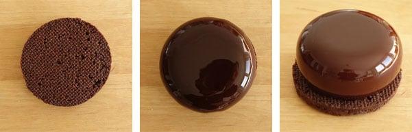 La recette des petits entremets chocolat et orange