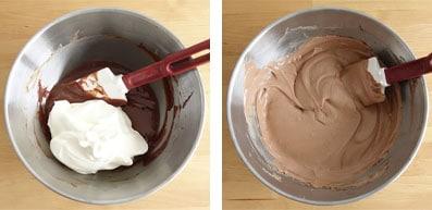 La recette de la bûche myrtille mystère (myrtille et chocolat au lait)