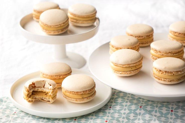 La recette des macarons au caramel beurre salé