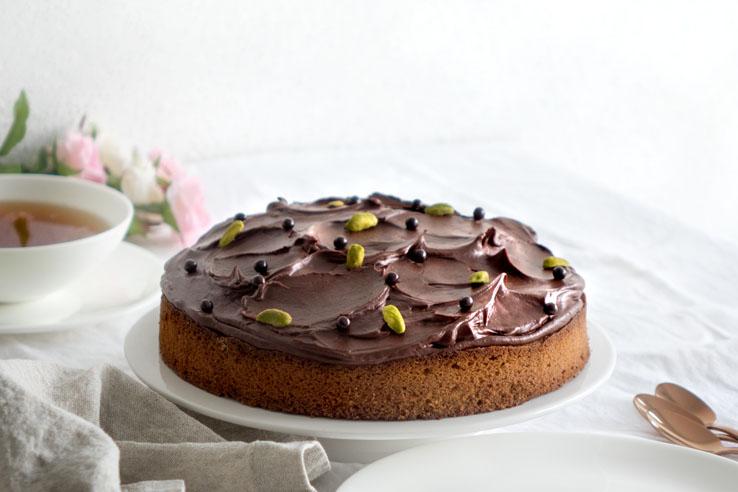La recette du moelleux pistache chocolat