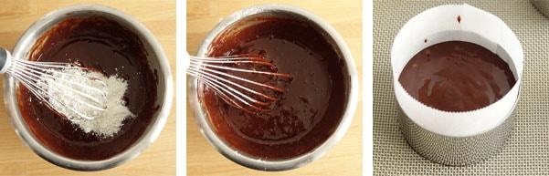 La recette du fondant au chocolat