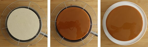 La recette de l'entremets pomme caramel