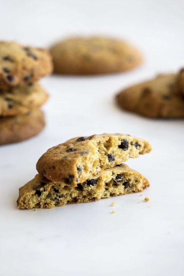La recette des Cookies aux pépites de chocolat
