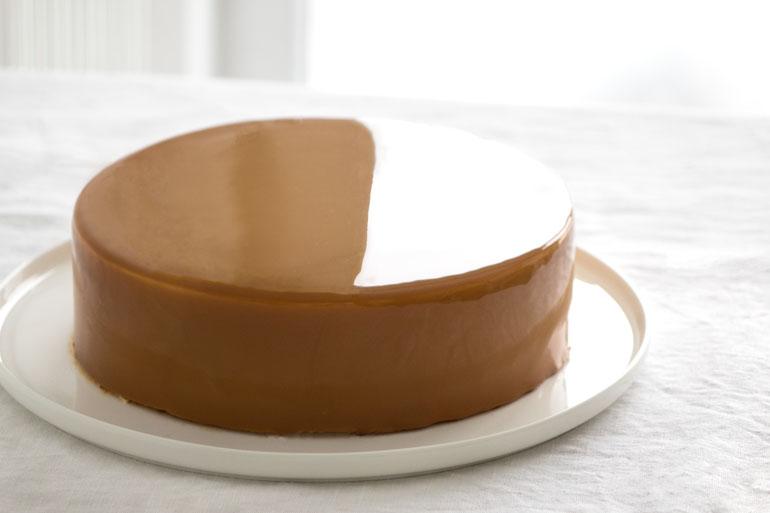 La recette du glaçage miroir au caramel